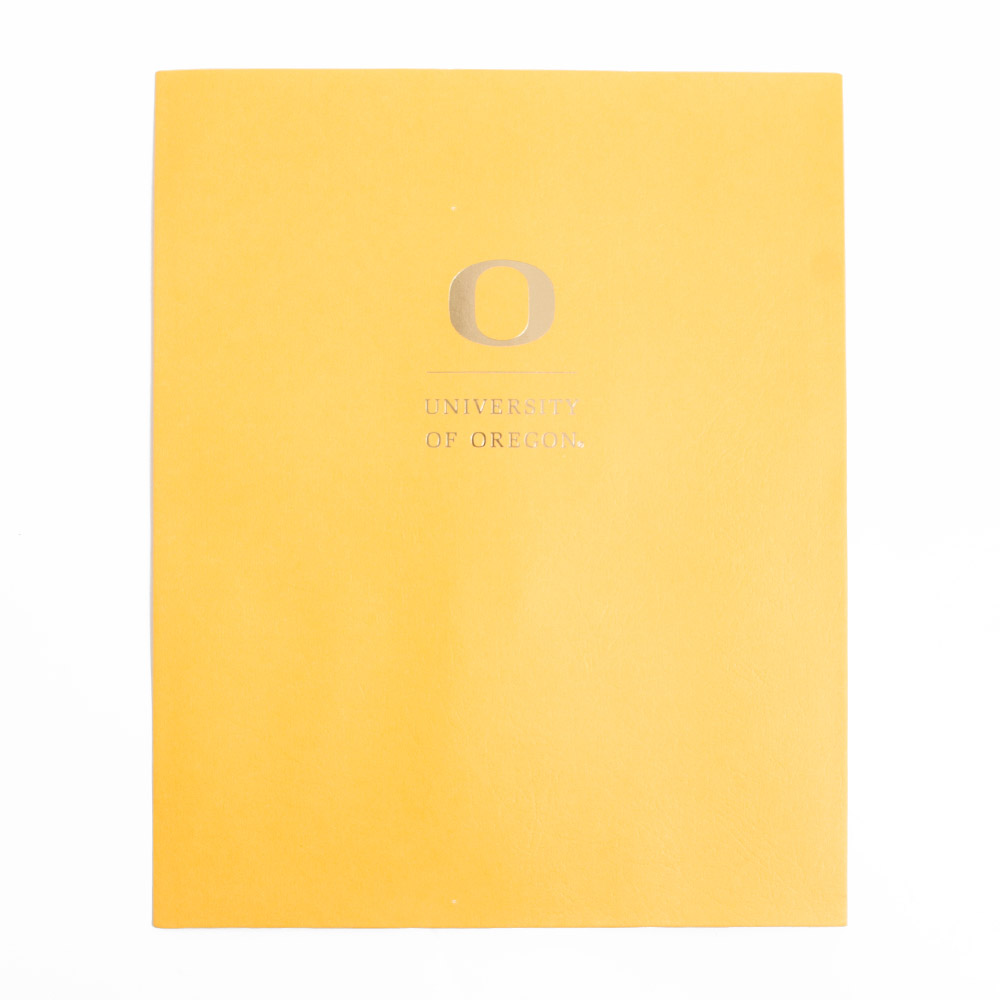 Roaring Springs Academic O Matte Folder_Gold